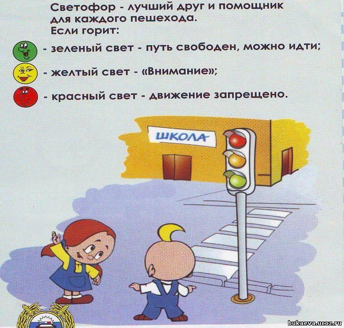 Правила пешехода в картинках